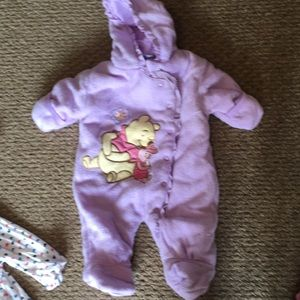 Winnie the Pooh baby winter suit